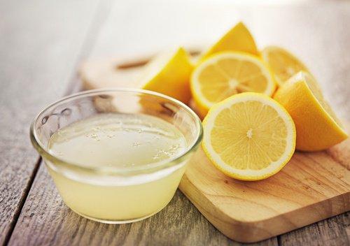 Remedio con limón para la diarrea