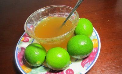 jarabe de limon para la tos