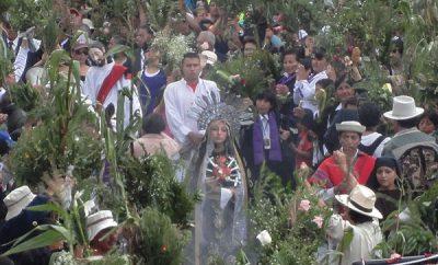 Procesión de Domingo de Ramos Quito 2017