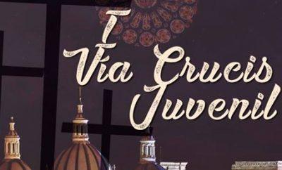 Vía Crucis Juvenil Semana Santa Cuenca Ecuador 2017