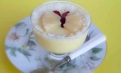 receta gelatina de piña con leche condensada