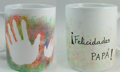 tazas pintadas para el dia del padre