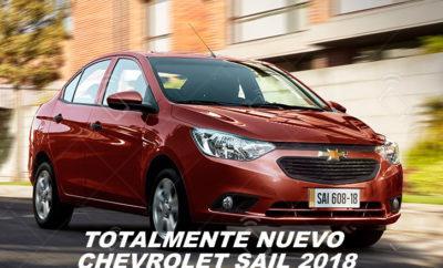 Precio Chevrolet Sail 2018 Ecuador