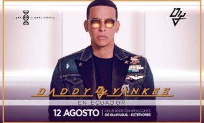 concierto daddy yankee ecuador 2017