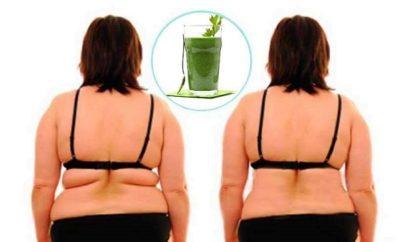 licuado para eliminar la grasa de la espalda