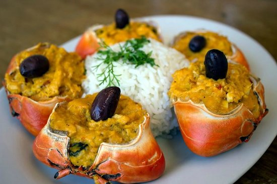 receta carapacho relleno