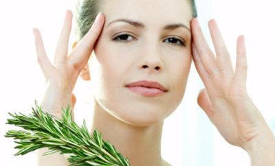 romero y aceite de oliva para las arrugas