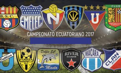 Tabla de posiciones del Campeonato Ecuatoriano de Fútbol 2017