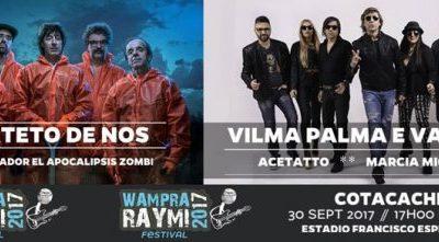 concierto de cuarteto de nos y vilma palma e vampiros en cotacachi fiesta de la jora 2017