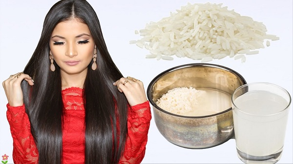 como preparar agua de arroz para el cabello