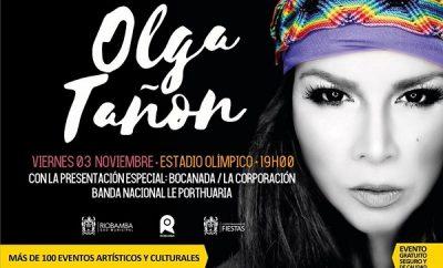 concierto de olga tanon en riobamba 2017