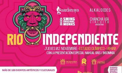 rio independiente fest en riobamba 2017