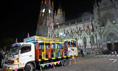 Feriado por fiestas de Quito