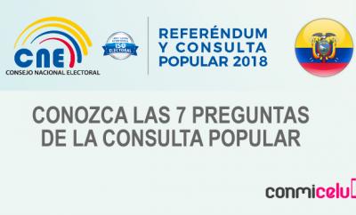 Preguntas de la consulta popular Ecuador 2018, Consulta popular Ecuador