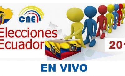 EN VIVO : Resultado de elecciones Ecuador 2018