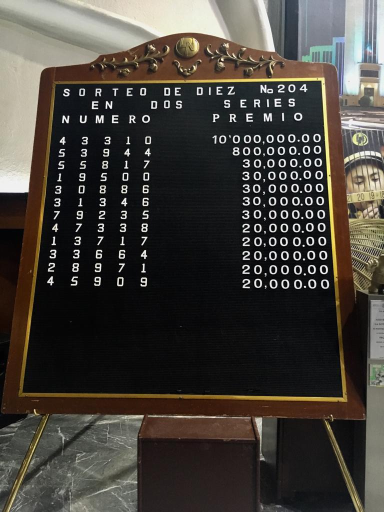 Resultados Sorteo De Diez 204