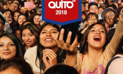 Programa de Fiestas de Quito, eventos fiestas de quito 2018