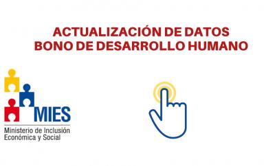 actualizar datos bono desarrollo humano