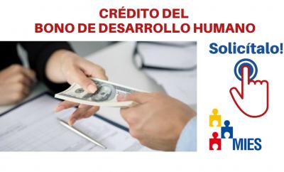 solicitar crédito del Bono de Desarrollo Humano
