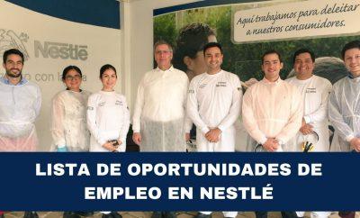 NESTLÉ Ecuador ofrece oportunidades de empleo BACHILLERES