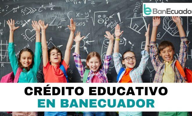 Solicitar préstamo educativo en BanEcuador