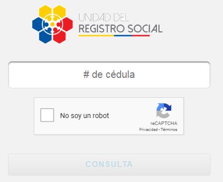 Consulta tu registro social