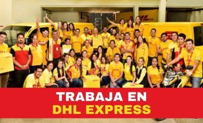 DHL Express Ofrece vacantes de empleo