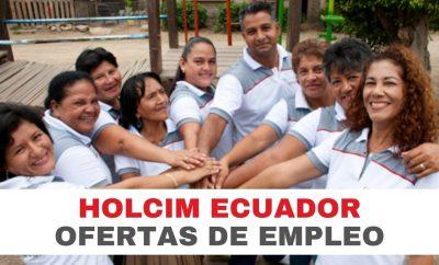 Oferta de Empleo para HOLCIM Ecuador