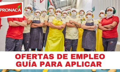 Oferta de Empleo en Pronaca Ecuador