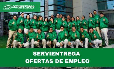 SERVIENTREGA: Ofertas de trabajo disponible en Ecuador