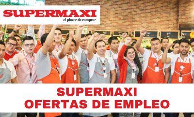 Oferta de empleo para el SUPERMAXI